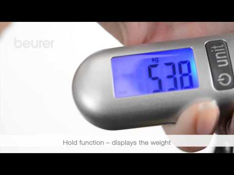 Quick start video for the LS 06 luggage scale from Beurer