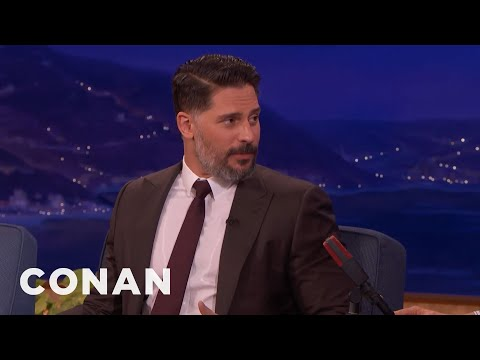 Joe Manganiello Saved Every Text From Sofia Vergara   CONAN on TBS