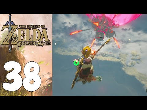 BATALLA AÉREA! The Legend Of Zelda: Breath Of The Wild! Capitulo 38!