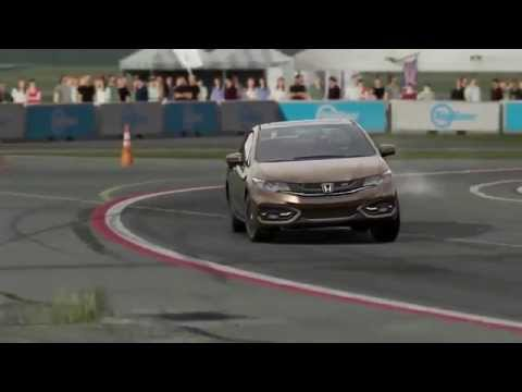 FM5 Lap Around The Top Gear Test Track EP6 2015 Honda Civic Si