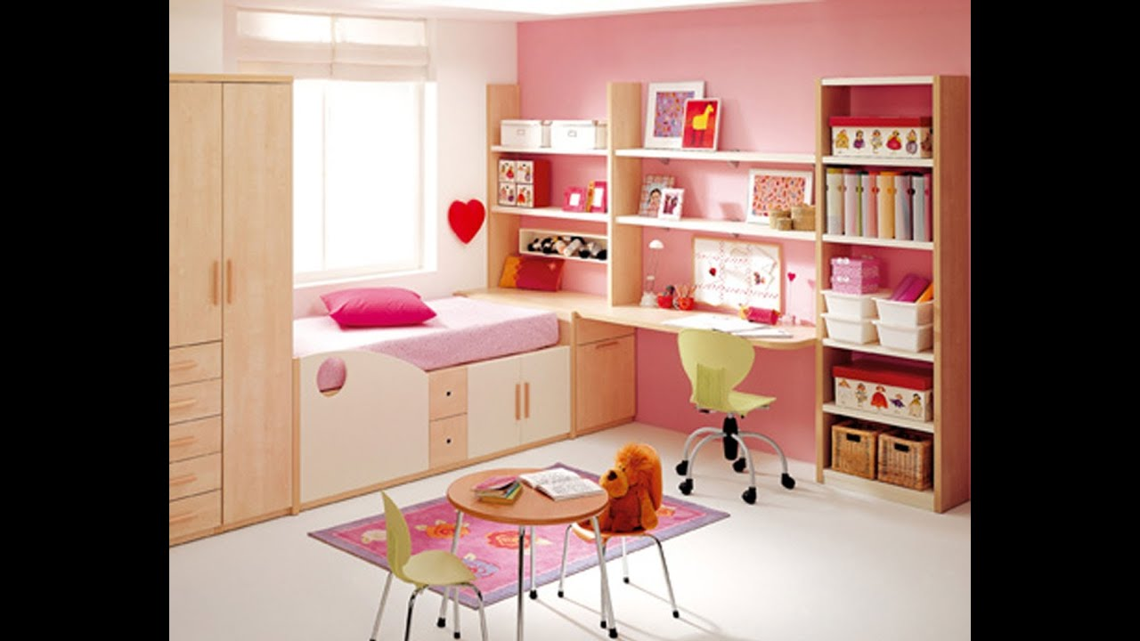 Bedroom design ideas for girl top 10 youtube for Children bedroom designs girls