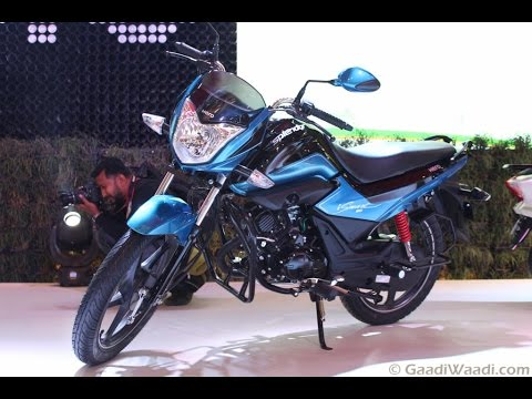 Hero Splendor 110 iSmart Walkaround Video From 2016 Delhi Auto Expo