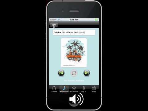 Arabic Music Radio Iphone ipod ipad app