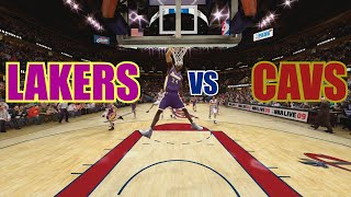 NBA Live 09 - Lakers vs Cavaliers (Requested)