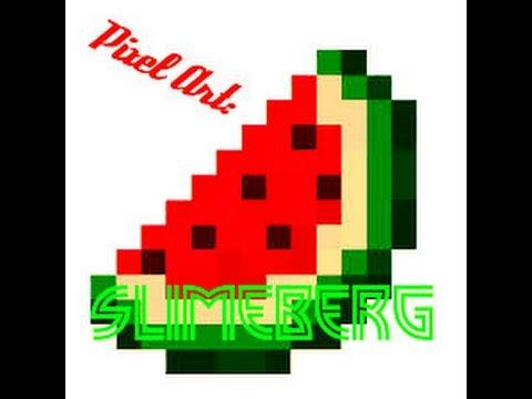 Minecraft Tuto Pixel Art N 2 Pastèque De Minecraft De Slimeberg