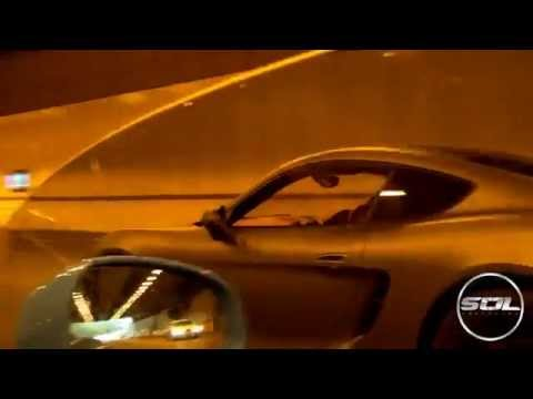 Craziest tunnel sounds of Porsche 981 Cayman S equipped with Armytrix Performance Exhaust