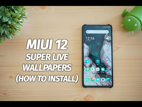 MIUI 12 Super Live Wallpapers On Any Android Phone (Earth & Mars)- How To Install