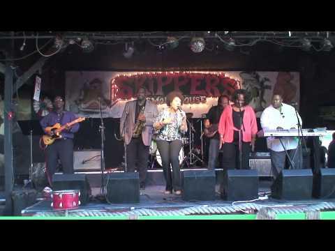 Leotte Harrell and Belinda Womack sing at Stevie Wonder Tribute
