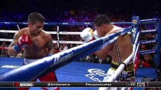Marcos Maidana Vs Josesito Lopez Highlights
