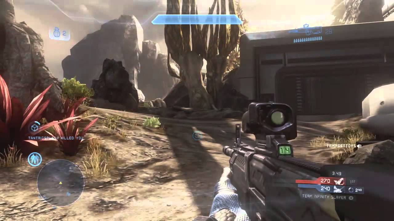 Halo 4 Multiplayer Gameplay LIVE Online - Launch Night ...