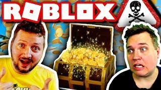 ⛵ SAIL RIGHT TO THE END?! 💰:: Vercinger and ComKean in Dansk Roblox: Build a Boat for Treasure