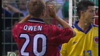 Mondiali 1998 Colombia-Inghilterra 0-2 - World Cup 1998 Colombia-England 0-2 highlights