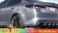Custom 2016 Kia Optima Turbo Carbon Fiber Wrap, Franklin Kia, Nashville TN