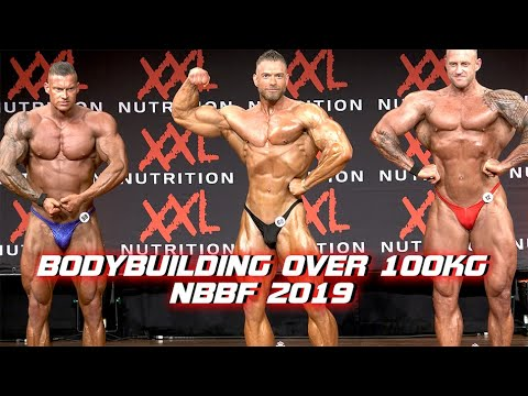 Bodybuilding Over 100kg At NBBF Dutch Championships 2019
