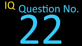Question Number 022 - Boost Your IQ - Daily Dose to keep your brain healthy