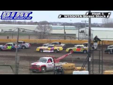Casino Speedway 5/4/14 WISSOTA Street Stock Races