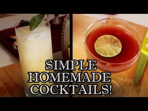 Easy Cocktail Recipes To Make At Home - Behind The Drink