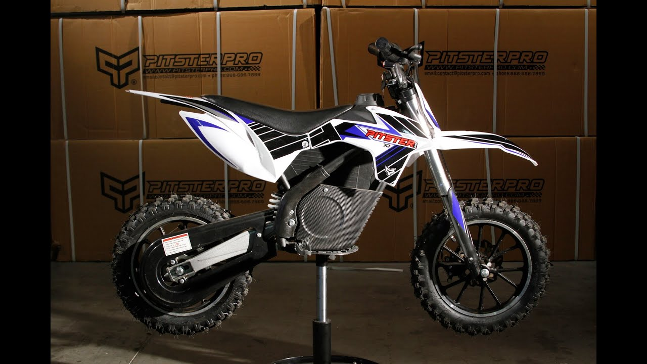 Xj Electric Pit Bike By Pitster Pro