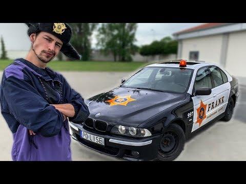 ROBIMY RADIOWÓZ Z BMW. OKLEJANIE. odc.1