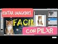 ¿Como utilizar Pixlr editor? 2017 | FÁCIL | Miniaturas para youtube | Norma Lizeth GA