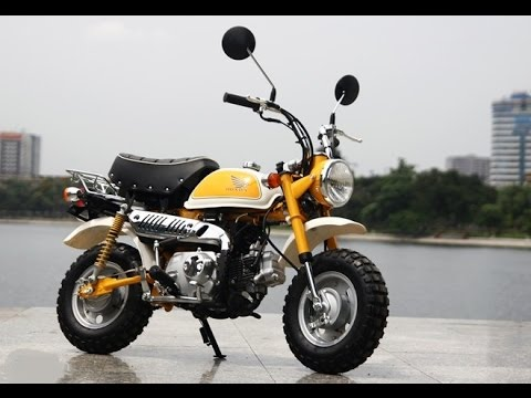 honda monkey bike 50cc 2014 fi - youtube