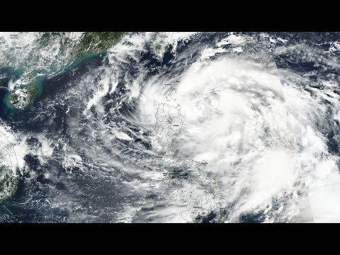 Large Tropical Cyclone Khanun AIMS for South China Sea/24 Hr. Earthquake Activity/4.5 EQ North Pole