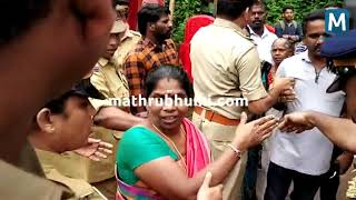 Ladies Protest in Nilakkal Vehicles Blocked | Mathrubhumi