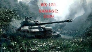 WoT Blitz 121 buff test 5.3K