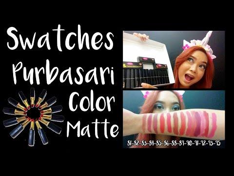 lip-swatches-#2-:-full-swatches-purbasari-color-matte-lipstick-||-judith-cholya