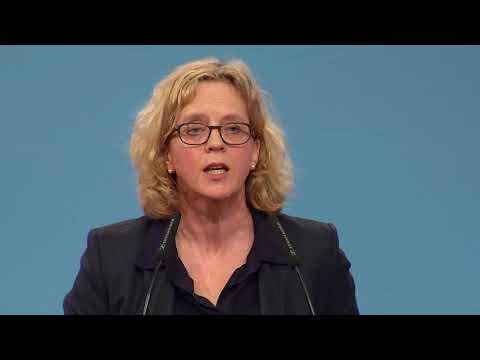Natascha Kohnen zur Spitzenkandidatin gewählt / 95 Prozent Zustimmung für die Landesvorsitzende / Ein neues Gesicht für Bayern / Ein neuer politischer Stil