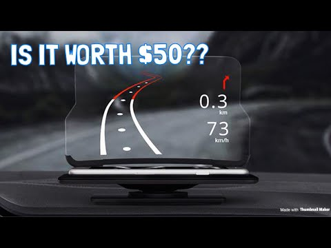 $50 HUD for ANY Car! Is it Worth it?