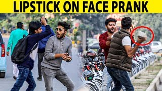 LipStick on your Face Prank - Lahori PrankStar