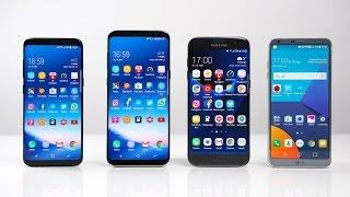 Samsung Galaxy S8 vs. S8+ vs. S7 edge vs. LG G6: Benchmark | SwagTab