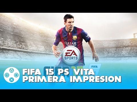 FIFA 15 PS VITA PRIMERA IMPRESION #PSVitaShare