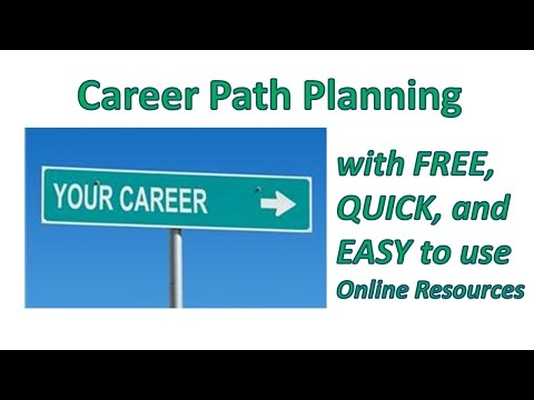 Career Path Planning with FREE Online Resources