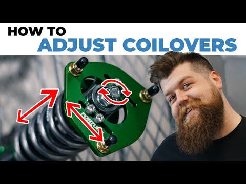 How To Adjust Coilovers   A Coilover Adjustment Guide