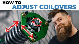 How To Adjust C๐ilovers   A Coilover Adjustment Guide