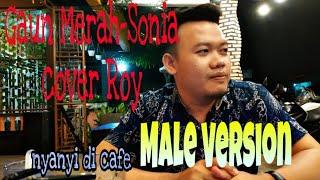 Download Gaun Merah - Sonia || Cover Roy (Nada Cowok)