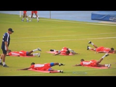Américo Gallego dice estar conforme con el primer entrenamiento con Panamá