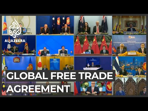 World's biggest free trade deal signed