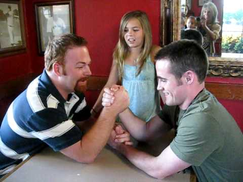 arm wrestling with my father shooting dad Favorite armwrestling memory: my father was watching the 2014  there were some bad dudes there so my dad and i were like 'shoot what did we.