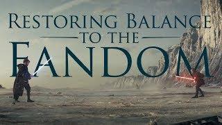 The Last Jedi: Restoring Balance to the Star Wars Fandom