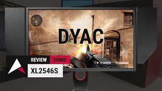 "Zowie XL2546 Review (25"" 1080p 240Hz TN Gaming Monitor ft. DyAc)"