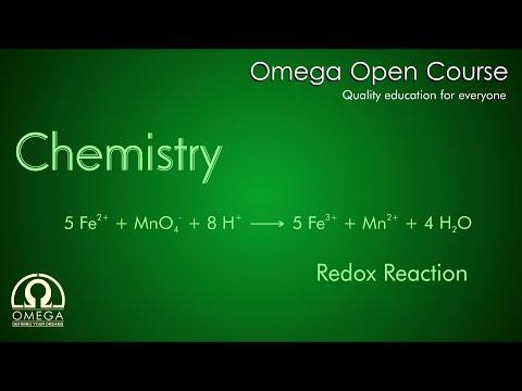 Chemistry - Redox Reaction - Iron (II) (Fe2+) Ion With Permanganate Ion (MnO4-)
