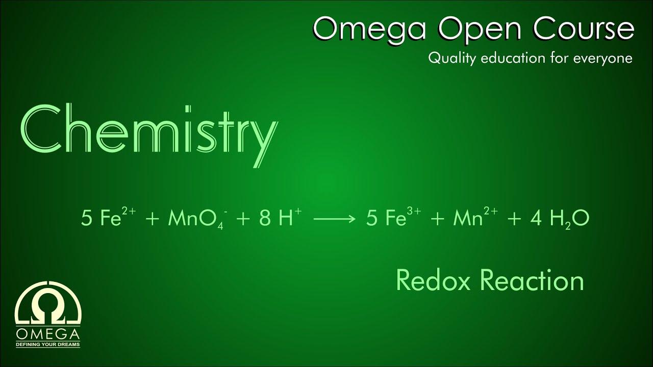 Chemistry - Redox Reaction - Iron  Ii   Fe2   Ion With Permanganate Ion  Mno4-