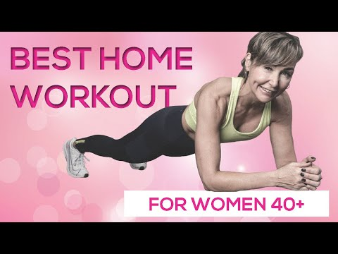 Bodyweight Home Workout for Women Over 40