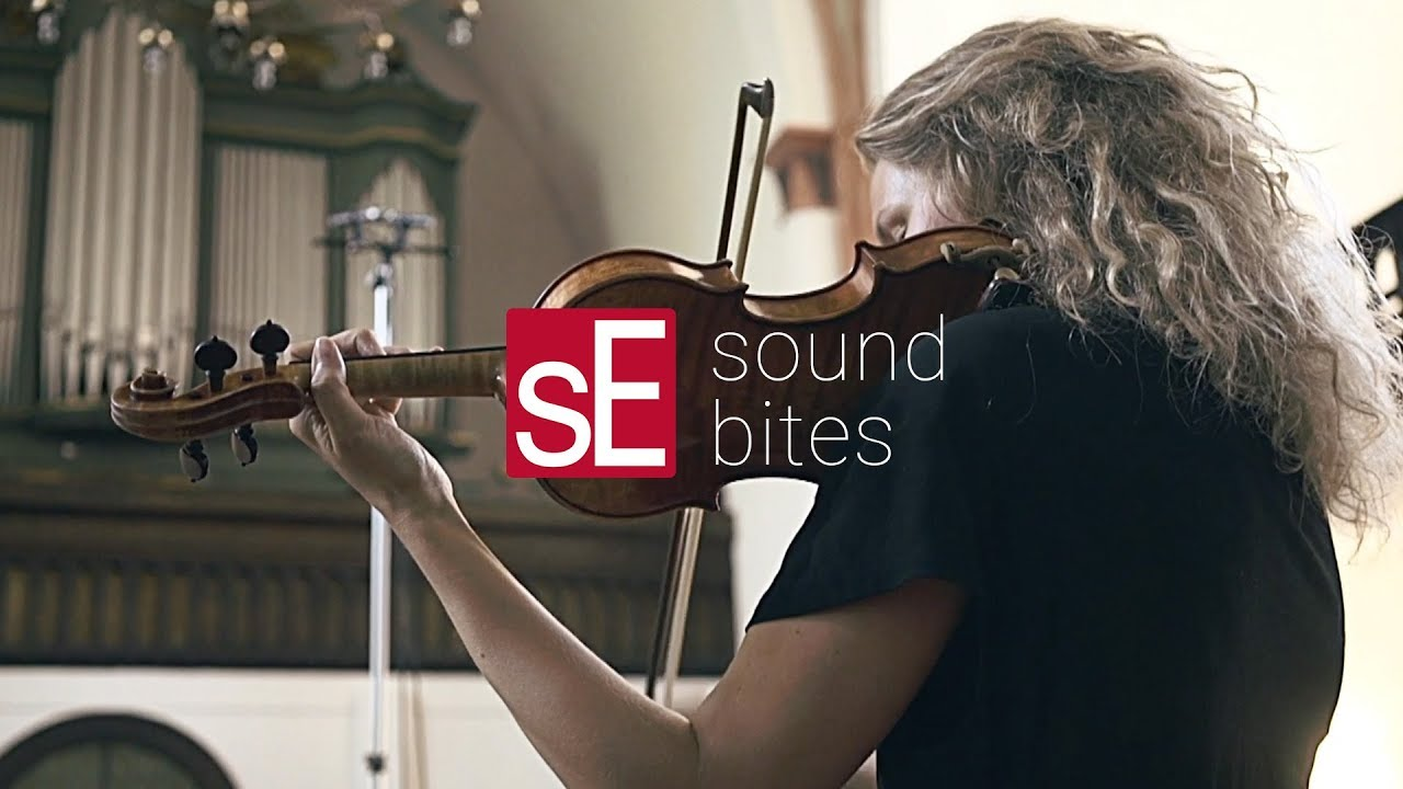 SoundBites: sE8 Stereo Pair + Violin