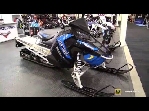 2016 Polaris 800 SKS 155 Sled - Walkaround - 2015 Toronto ATV Show