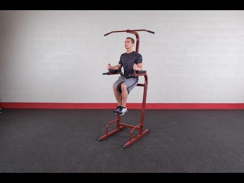 Best Fitness Vertical Knee Raise BFVK10 (BodySolid.com)