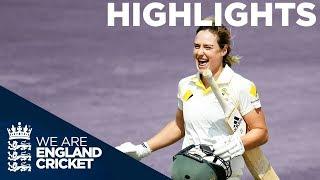 England v Australia Kia Women's Test Match | Day 2 Highlights | The Women's Ashes 2019